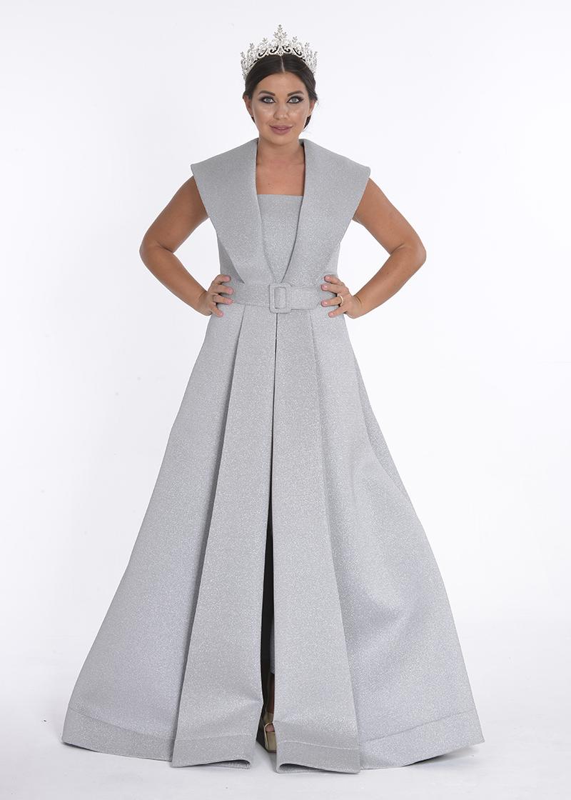 فستان ليزر
